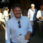L'assessore ai lavori pubblici Massimo Ceppi