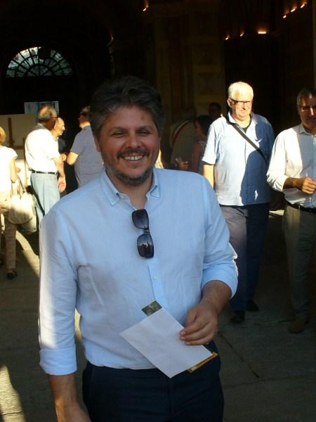 L'assessore all'urbanistica e ai lavori pubblici Massimo Ceppi