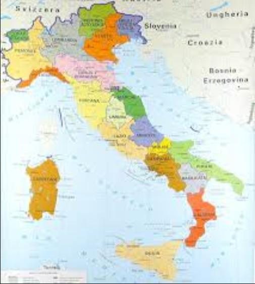 Marche Cartina Italia.Ipotesi 12 Regioni Ecco La Nuova Cartina D Italia Centotorri