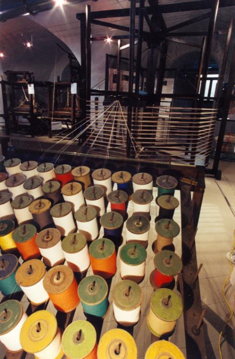 museo tessile telaio
