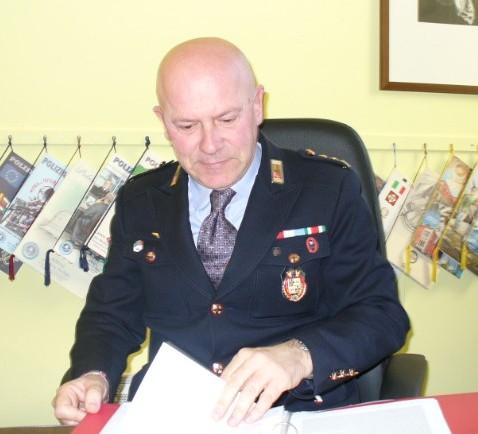 Federico Battel, comandante della Polizia Municipale di Chieri