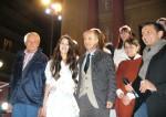 Nicole Bonventre con Piero Tamagnone e il sindaco Martano