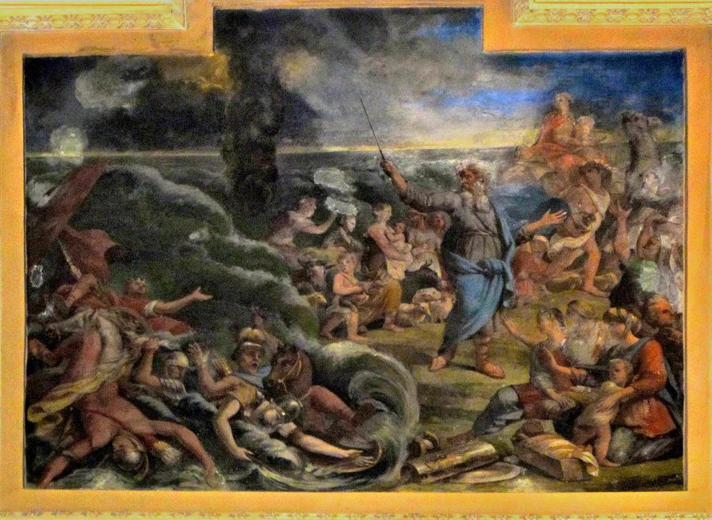 SACCHETTI Giovanni Francesco (?). Il passaggio del Mar Rosso (1668-1680)