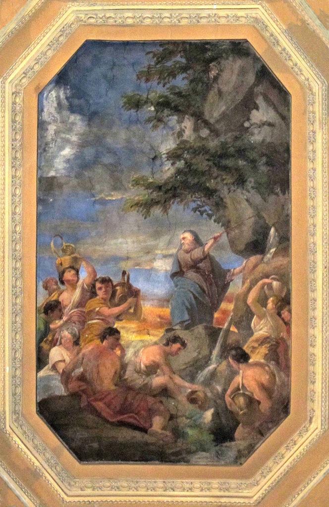 SACCHETTI Giovanni Francesco (?). La sorgente miracolosa (1668-1680)