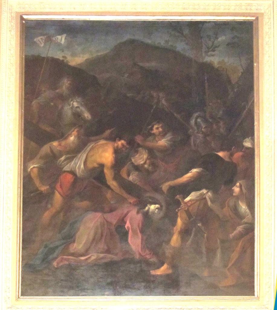 ANONIMO. Caduta di Gesù sotto il peso della croce (1668-1670)