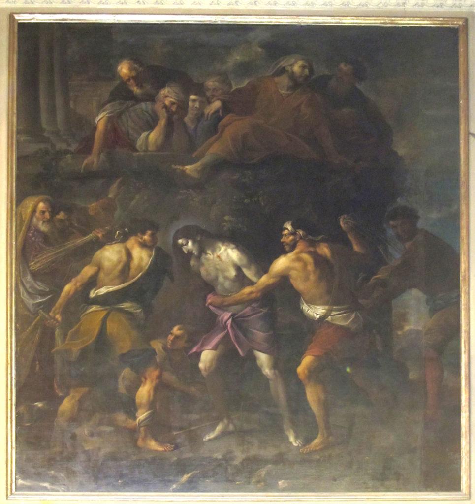 ANONIMO. Flagellazione (1668-1670)