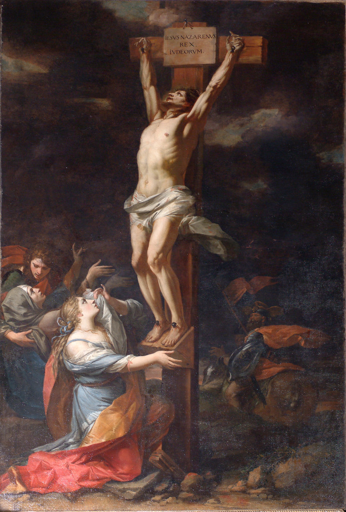 CHARLES DAUPHIN. Crocifissione (1668-1670).