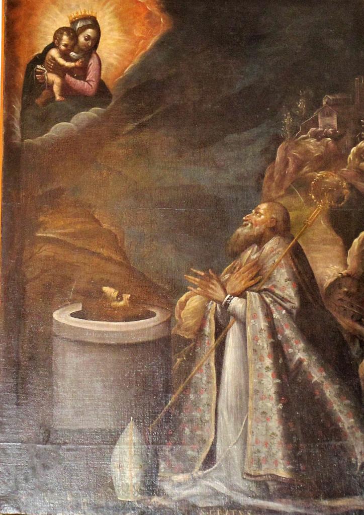 CROSIO Giovanni. San Grato (sec. XVII)