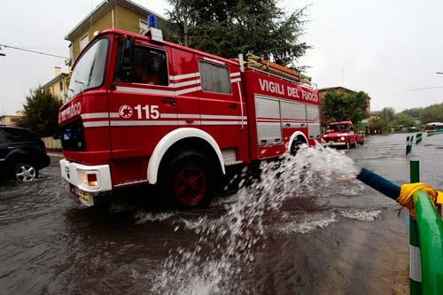 vigili del fuoco allagamenti