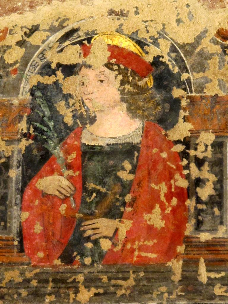 ANONIMO. Martirio di Sant'Agata (particolare)