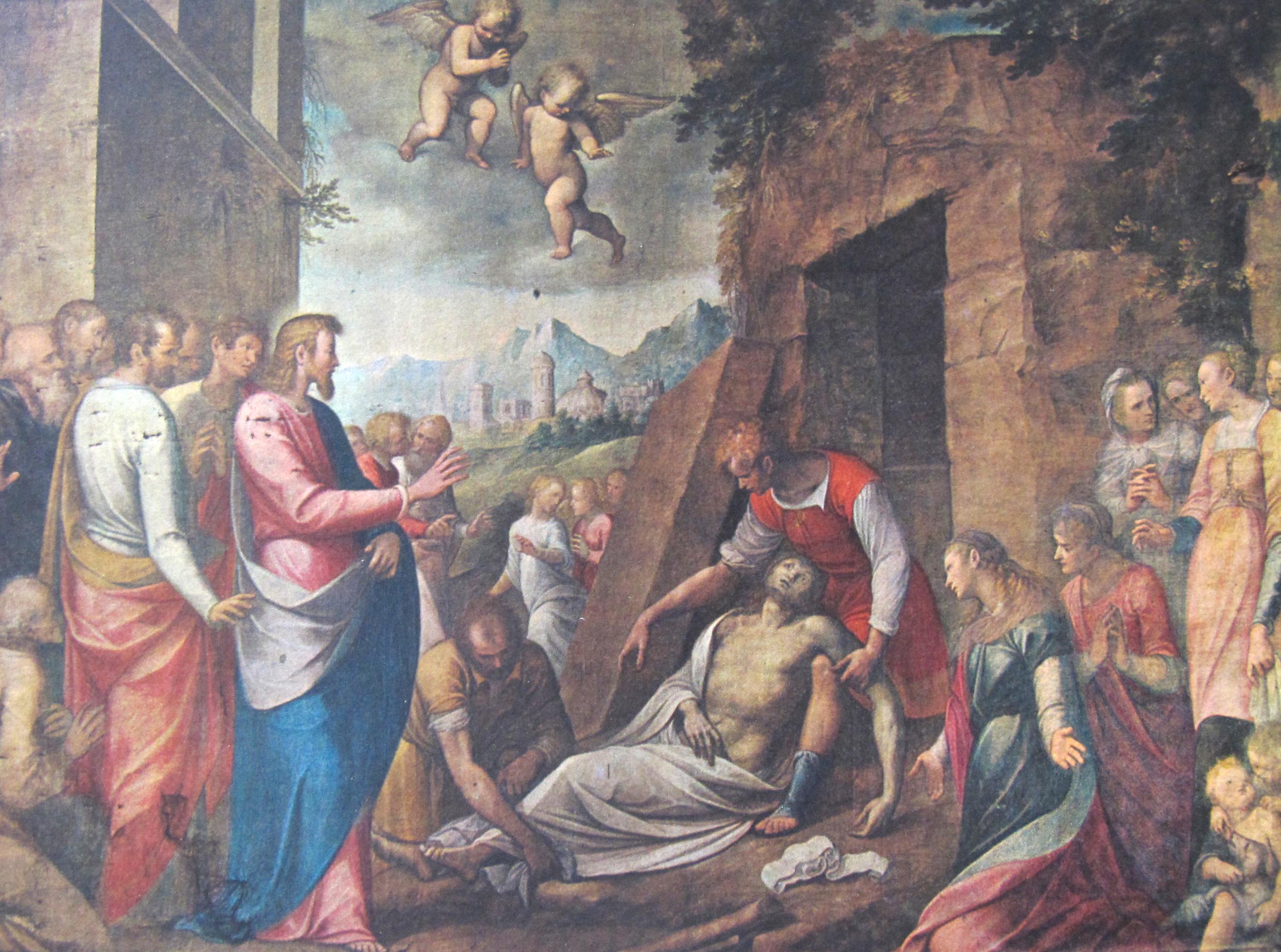 Guglielmo Caccia (il Moncalvo). La Resurrezione di Lazzaro (1615 ca.)