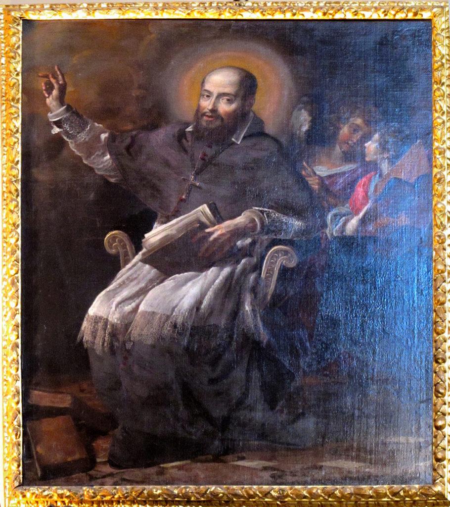 CARAVOGLIA Bartolomeo (?). San Francesco di Sales (sec. XVII)