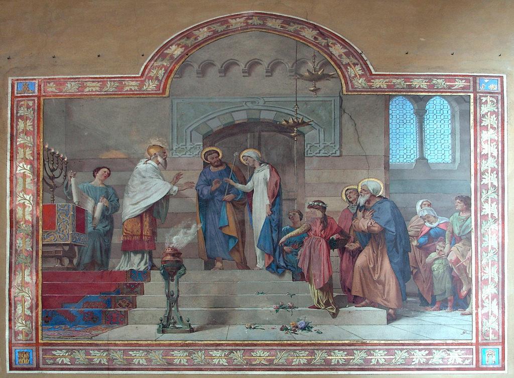 E. Gamba, Sposalizio della Vergine