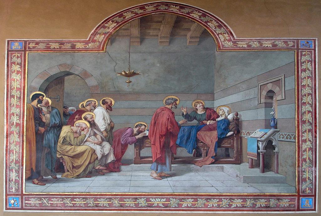 E. Gamba, Transito di Maria Vergine