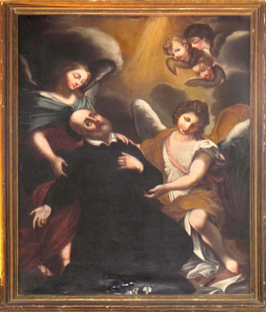 LEGNANI Stefano Maria (Il Legnanino). Estasi di S.Filippo Neri