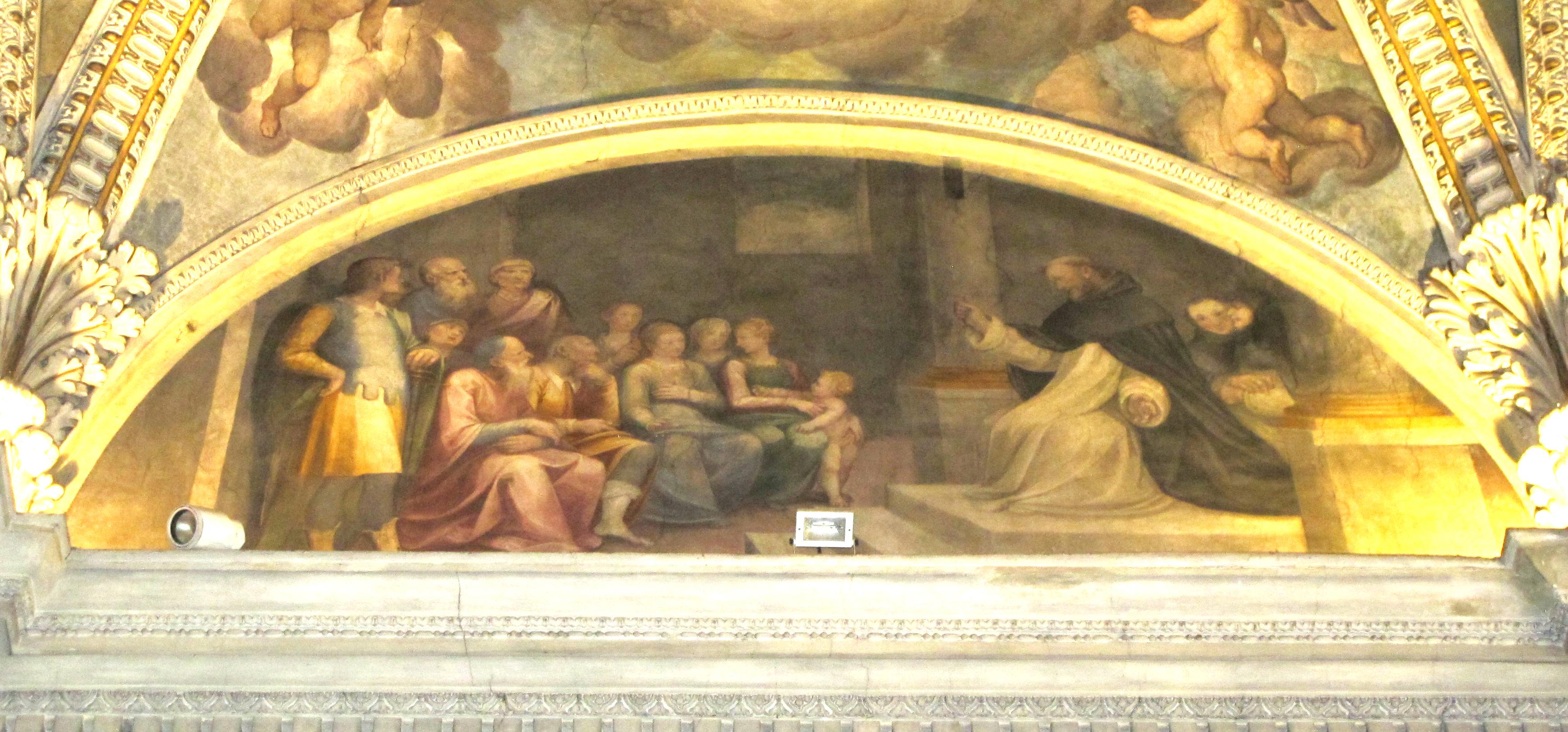 Guglielmo Caccia (Il Moncalvo). Predicazione di San Domenico (1615 ca.)