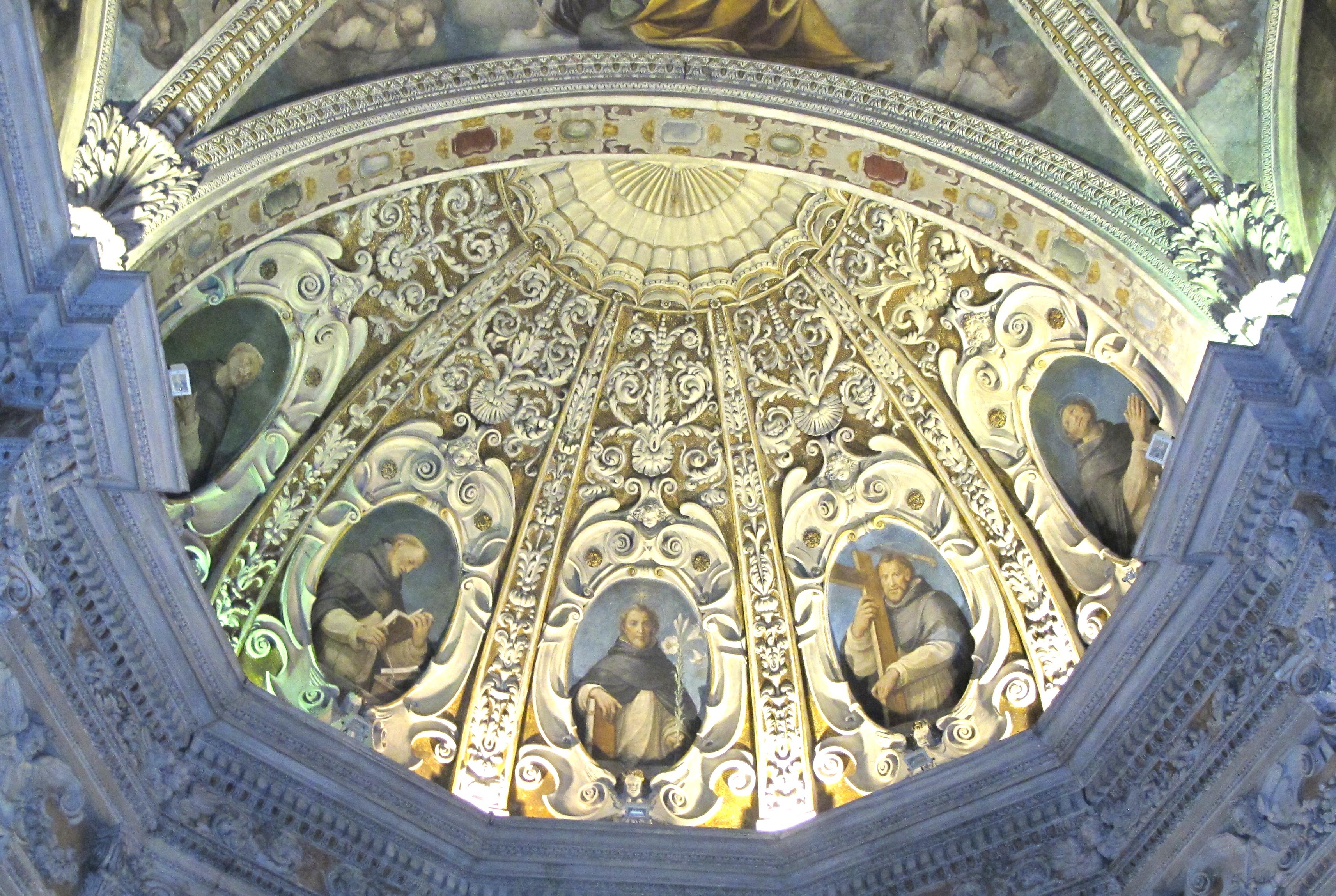 Catino dell'abside. I massimi Santi domenicani