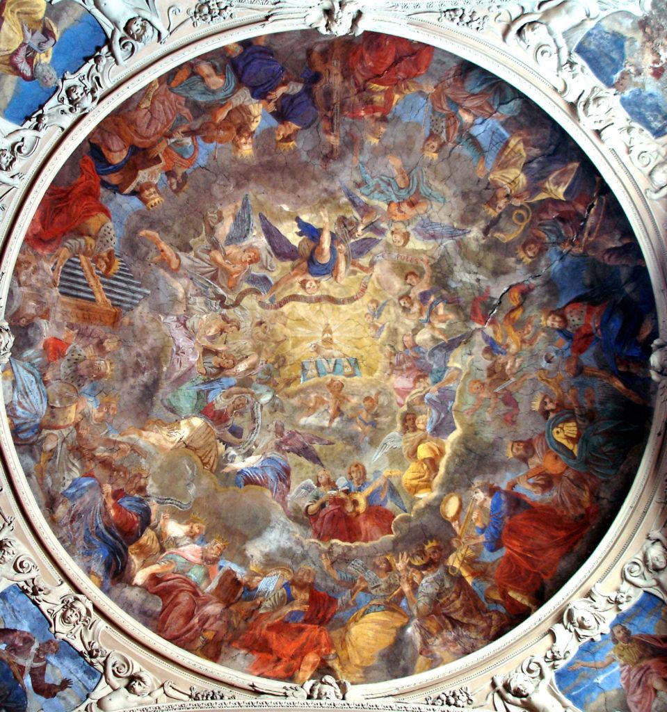 MAESTRI LUGANESI. Affreschi del catino (1660-1661)
