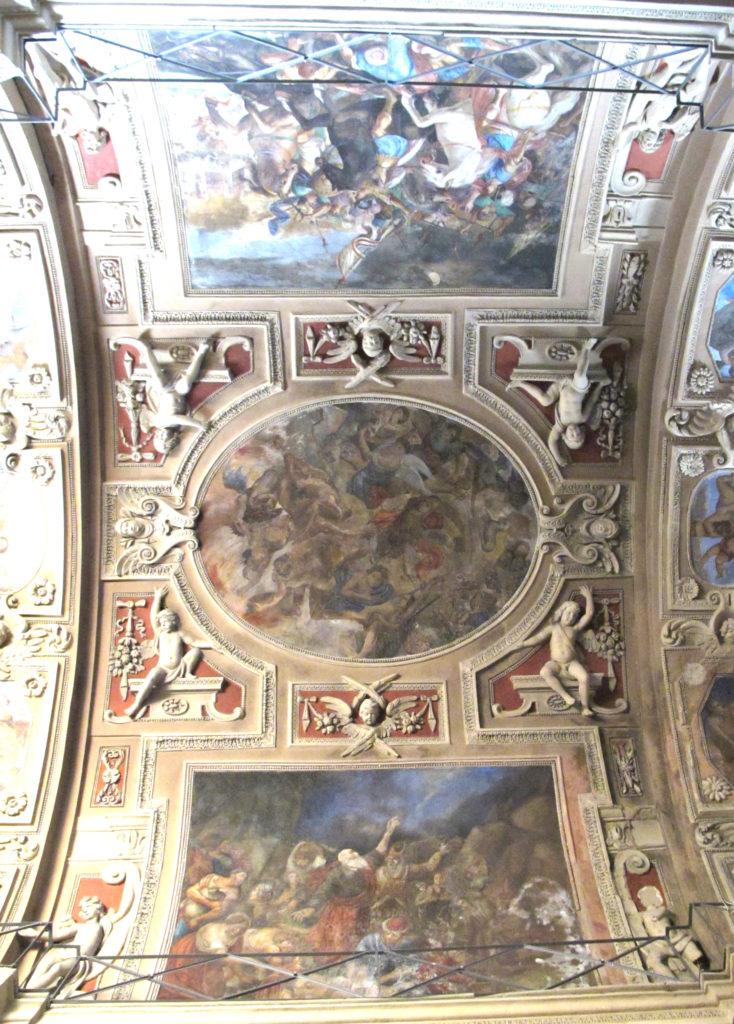 MAESTRI LUGANESI. Affreschi delle volte e delle pareti (1660-1661)