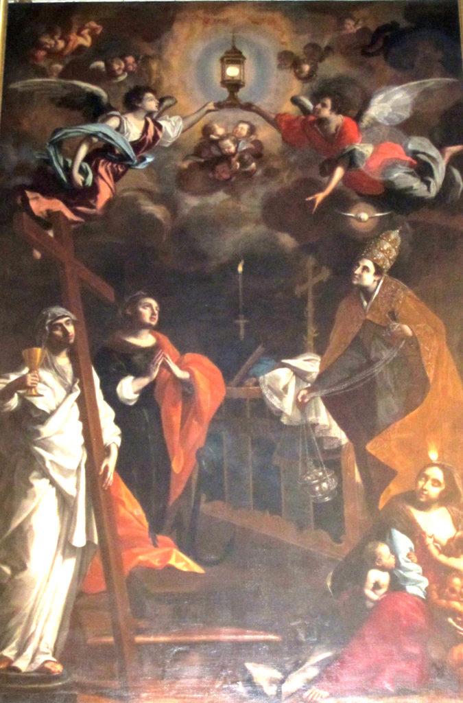 CARAVOGLIA Bartolomeo, Esaltazione dell'Eucaristia (1669)