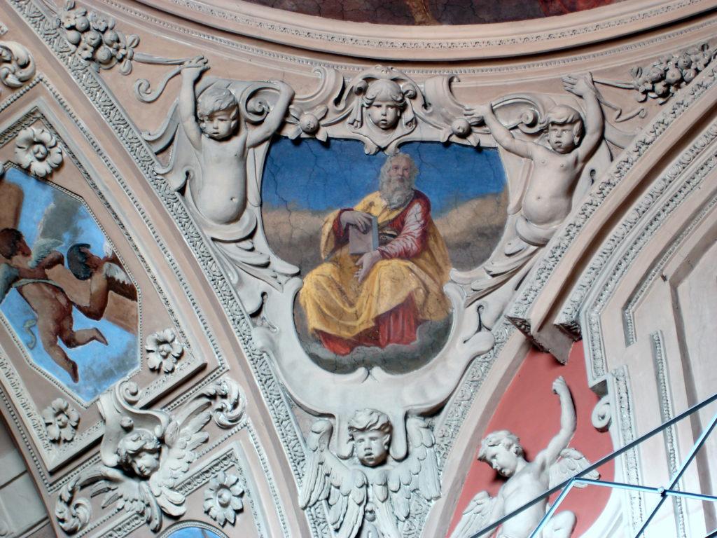 MAESTRI LUGANESI. stucchi dei pennacchi (1660-1661)