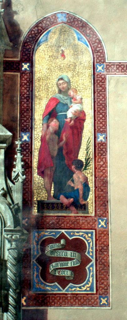GAMBA Enrico. La Carità (1877 circa)