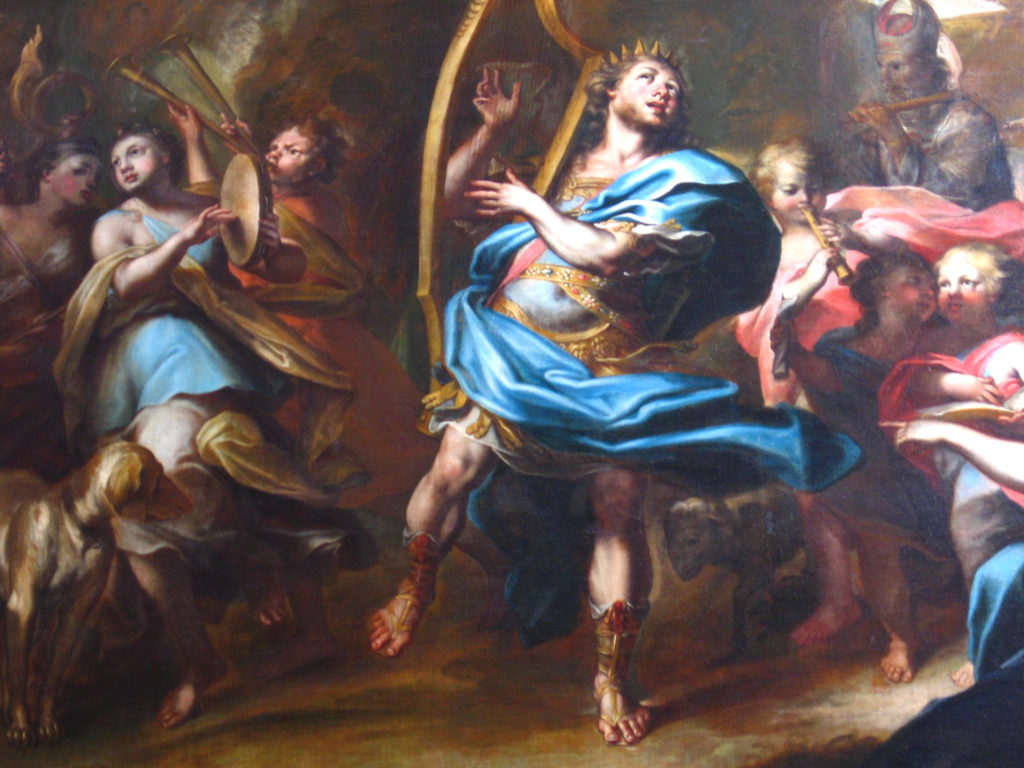 MARI Giovanni Antonio. David danza davanti all'Arca (1690 ca)