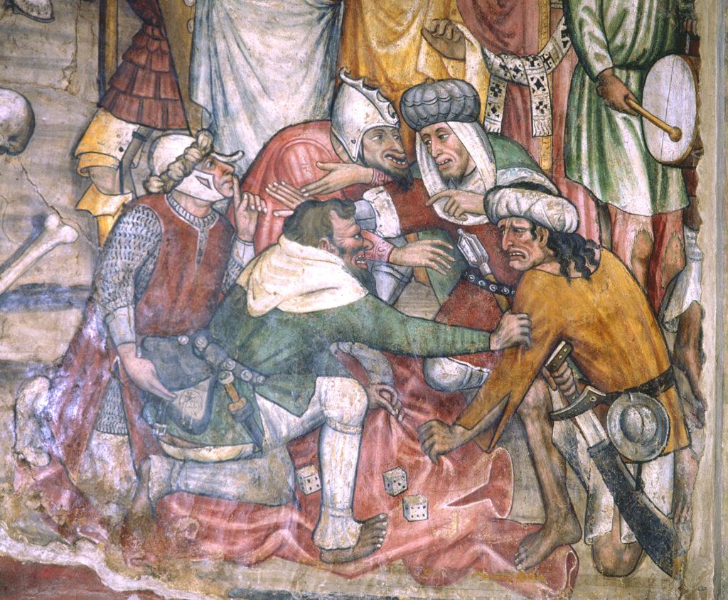FANTINI Guglielmetto. Ciclo della Passione di Cristo (1432-1435) - Il soldato ladro