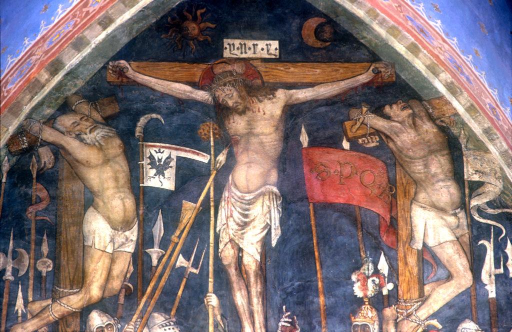 FANTINI Guglielmetto. Ciclo della Passione di Cristo (1432-1435) - Crocifissione