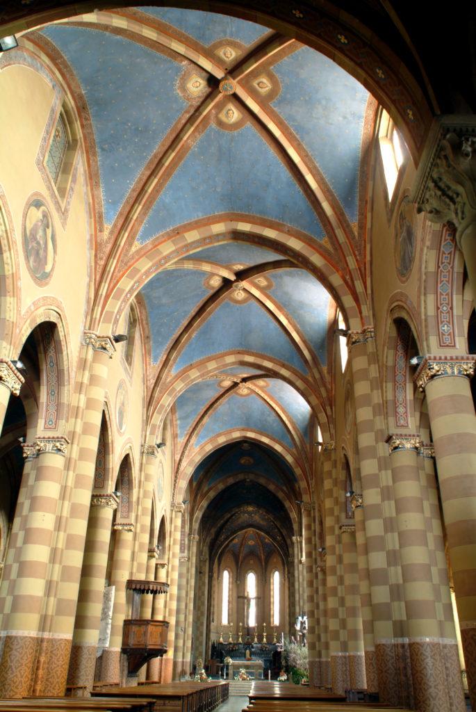 G. Ferrero, Interno Duomo, decorazione (Foto Cesare Matta)