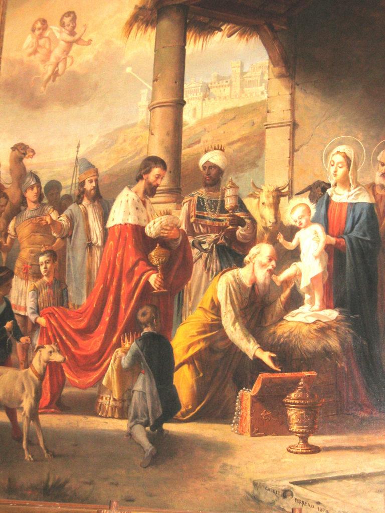 FERRERO Gabriele. Adorazione dei Magi (1879)