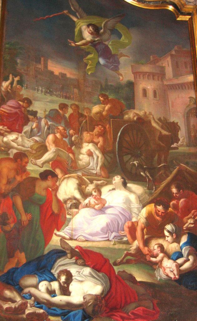 SARIGA Giuseppe. La peste. (1760 ca).