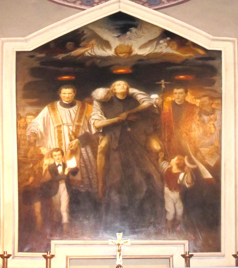 CAFFARO RORE MARIO. Pala dei santi piemontesi (1947)