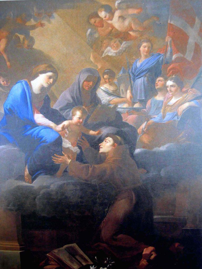 MIEL Jan. Sant'Anna e Sant'Antonio da Padova (1651)
