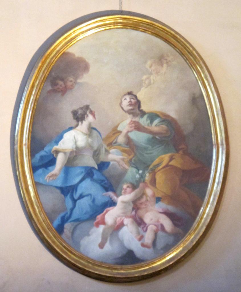 FRANCESCHINI Mattia. La Gloria dei Santi Giuliano e Basilissa (1747 ca.)