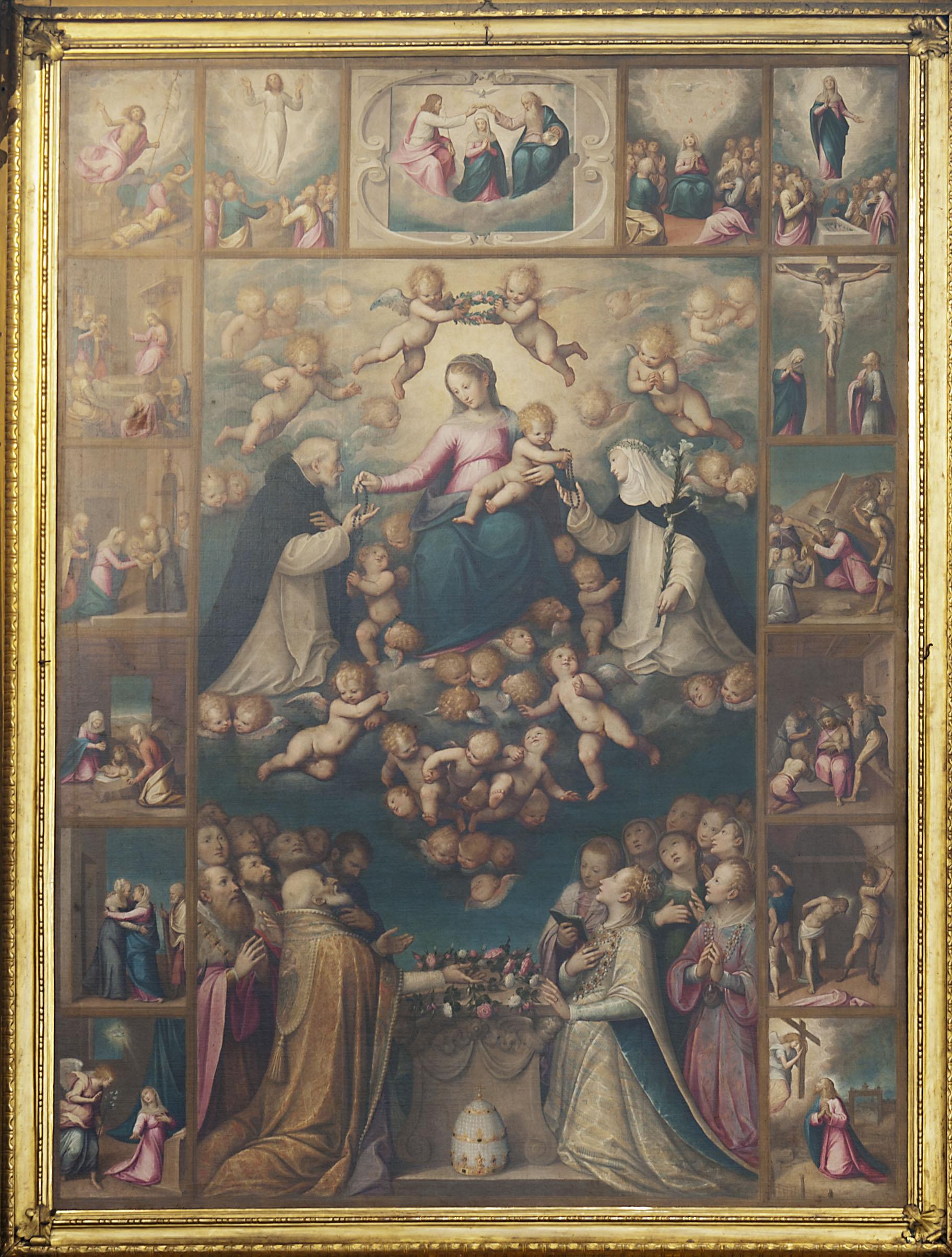 Moncalvo, rappresenta la Madonna e Gesù Bambino (1615)