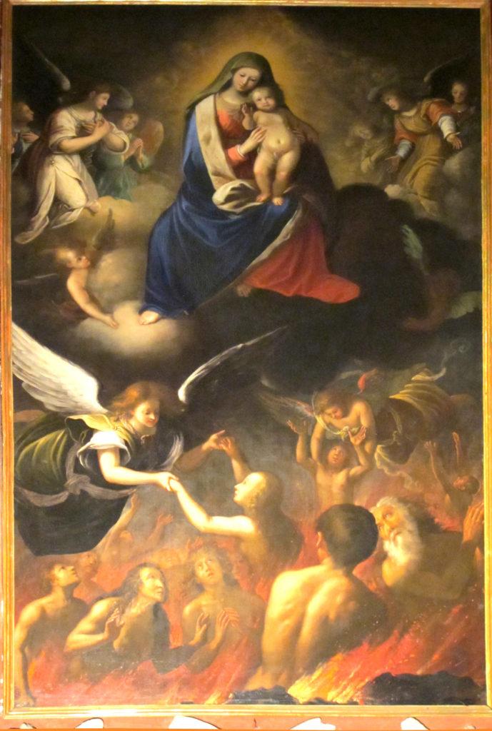 NUVOLONE Carlo Francesco e Giuseppe (attrib.), La Beata Vergine del Suffragio (1652)