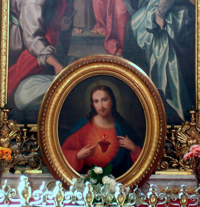 LORENZONE Tommaso. Sacro Cuore (1880 ca.)