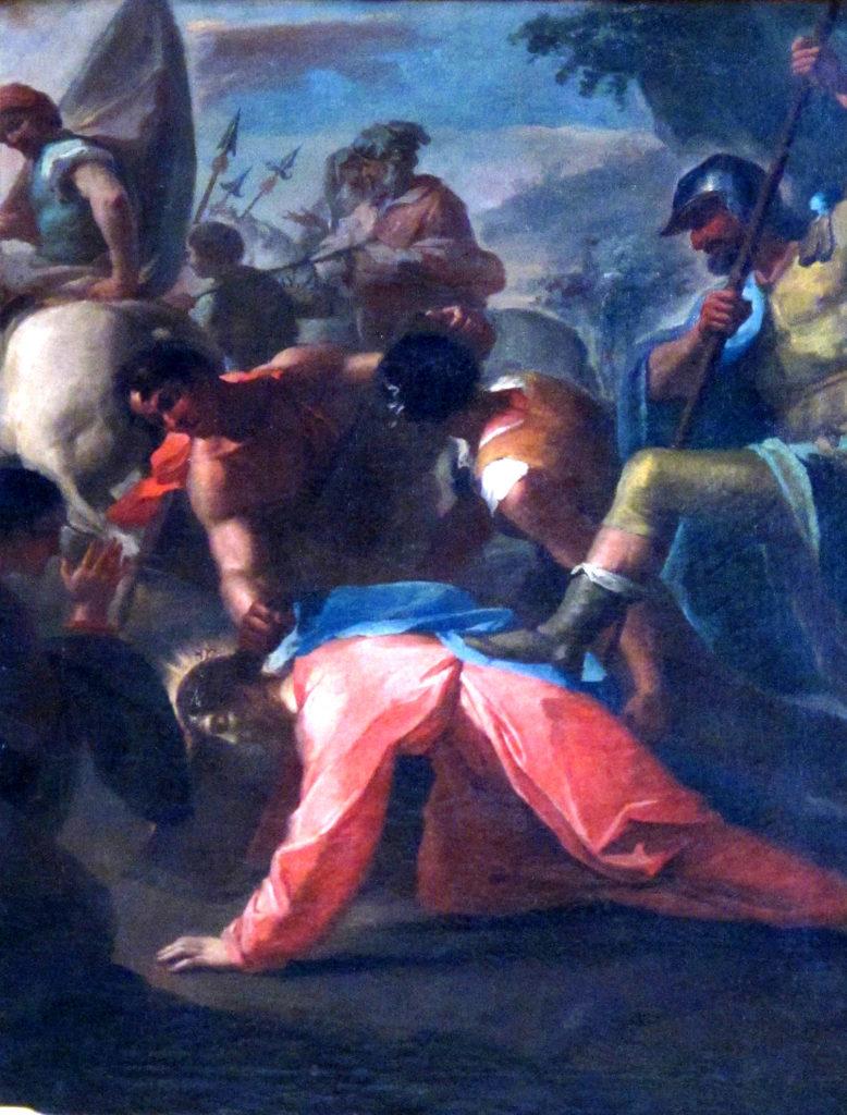 Via Crucis. IX staz. Gesù cade lungo la via del Calvario
