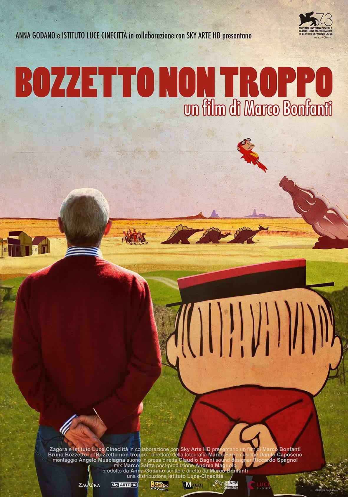 """PASSIONE FUMETTI di Giancarlo Vidotto – Bruno Bozzetto in mostra con """"West and Soda"""" a Sanremo Art & Comics"""