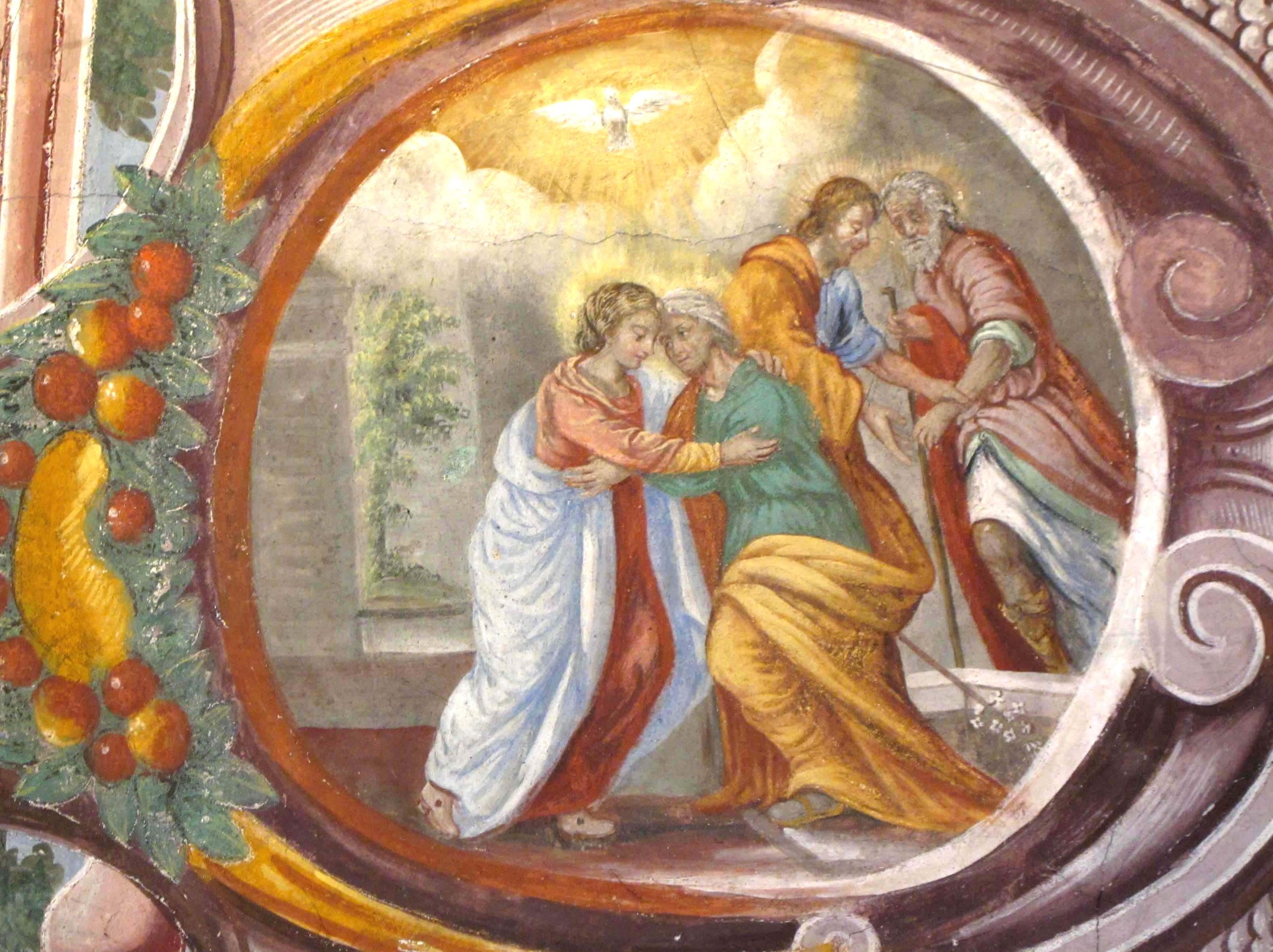 A.ANDRIETTO (attr.) Visita di Maria SS. a S. Elisabetta