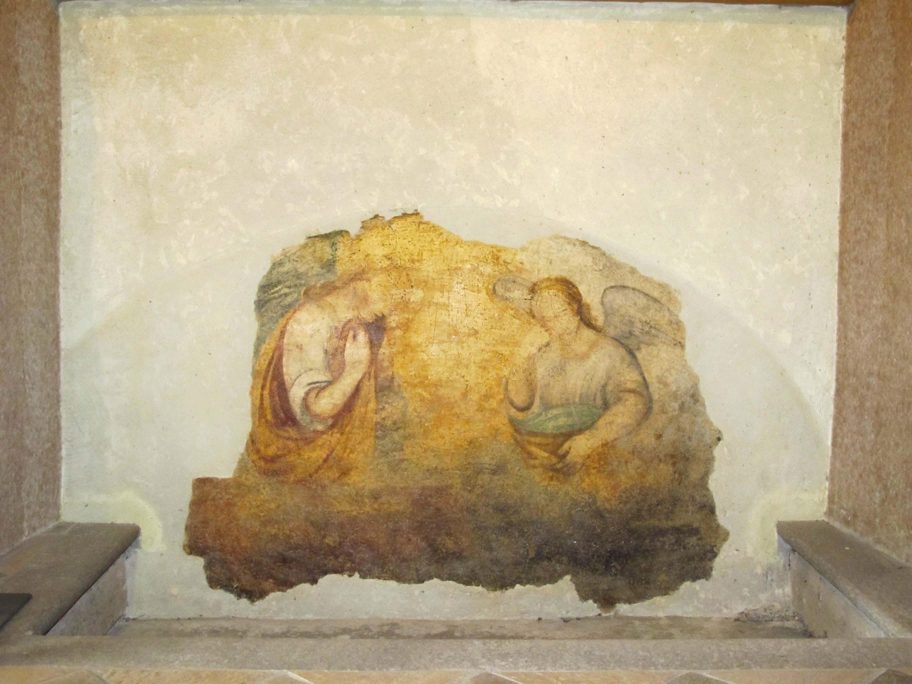 ANONIMO, Angeli adoranti (XVII sec.)