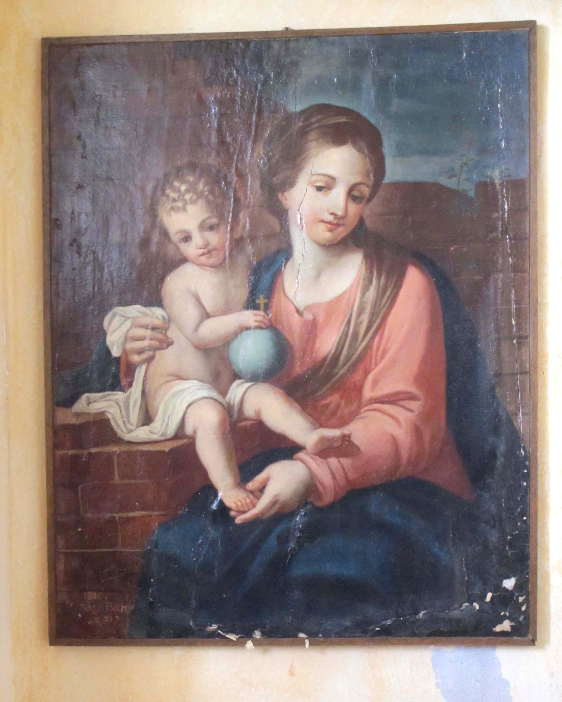 ANONIMO, La Madonna della Muraglia, (Sec. XVII)