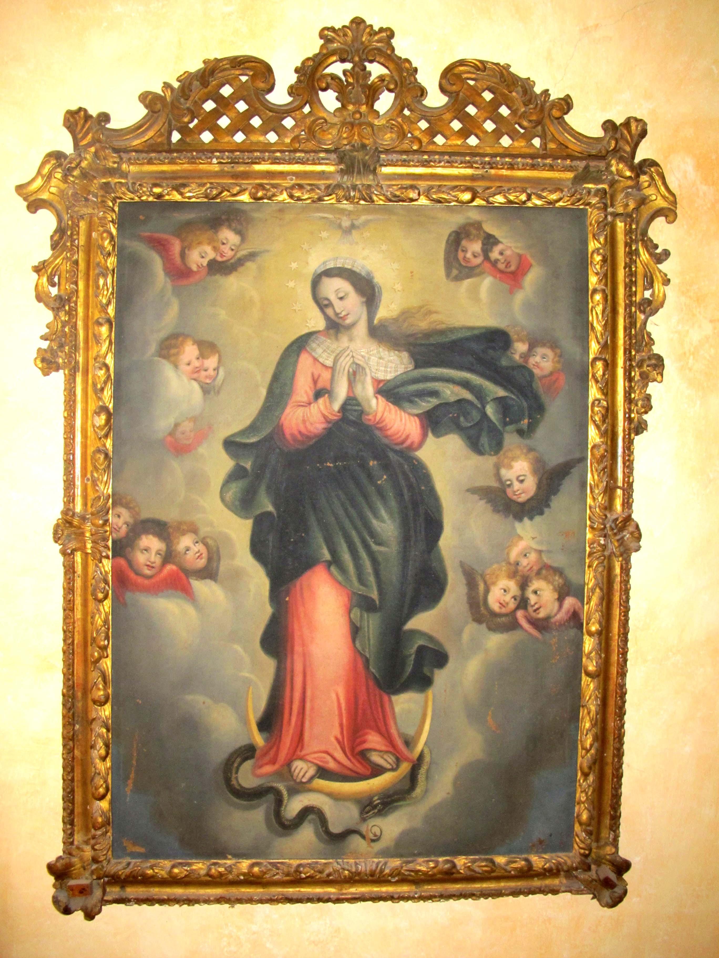 ANTONIO ANDRIETTO, Immacolata Concezione (seconda metà del XVII sec.)