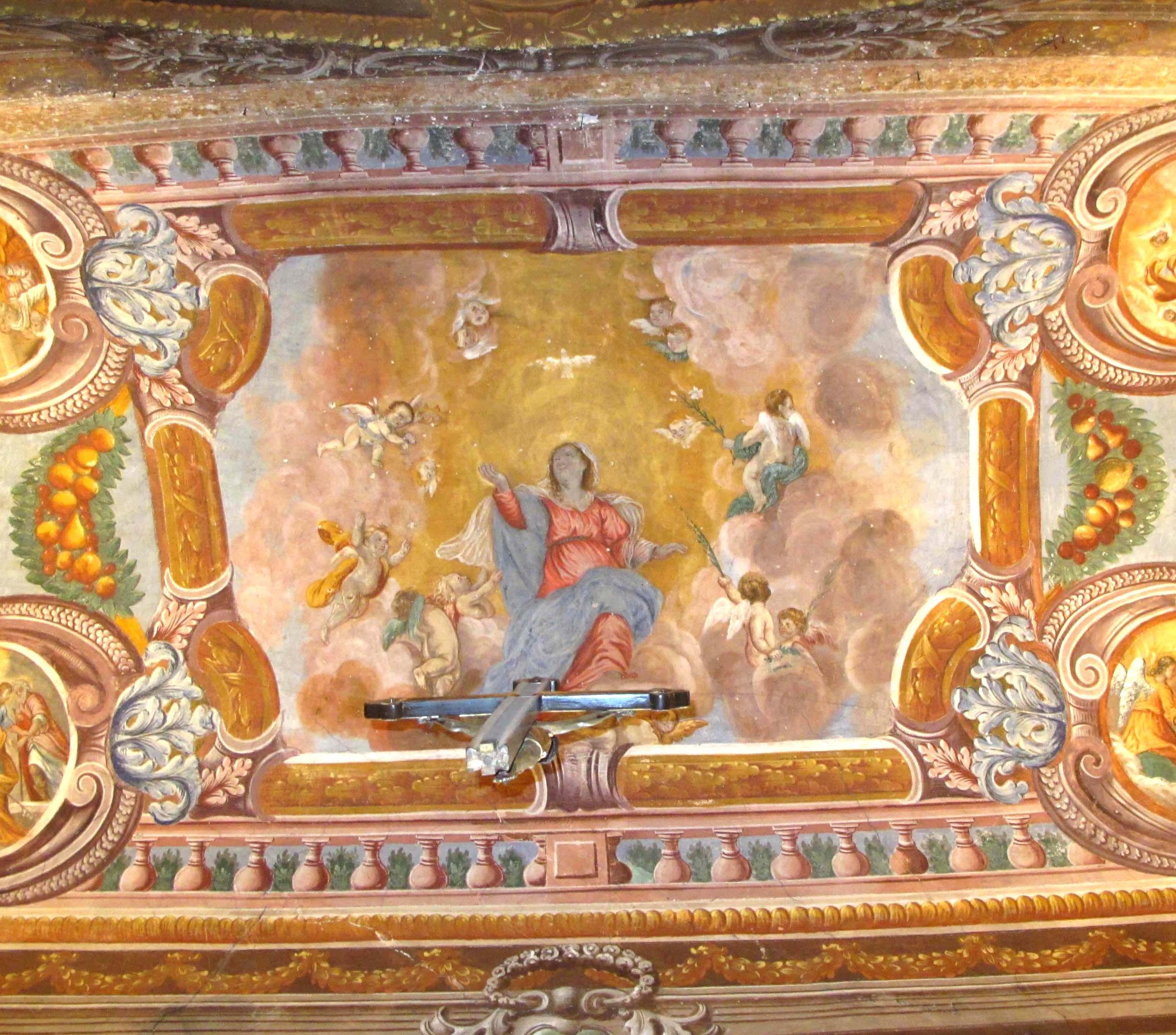 ANTONIO ANDRIETTO (attr.), Assunzione di M. V. in cielo (sec. metà del sec. XVII)
