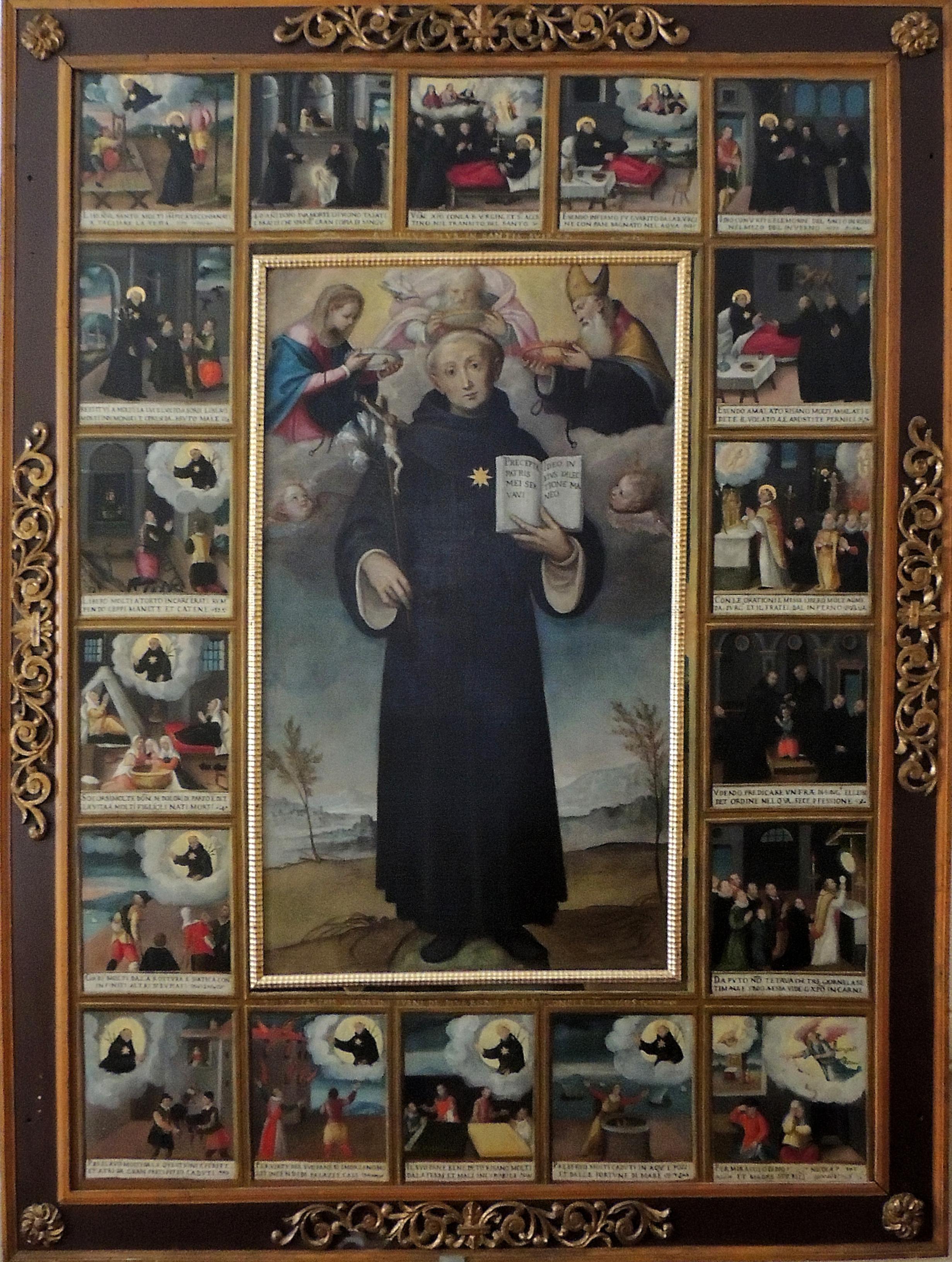 Il Moncalvo- F. Fea. San Nicola da Tolentino.