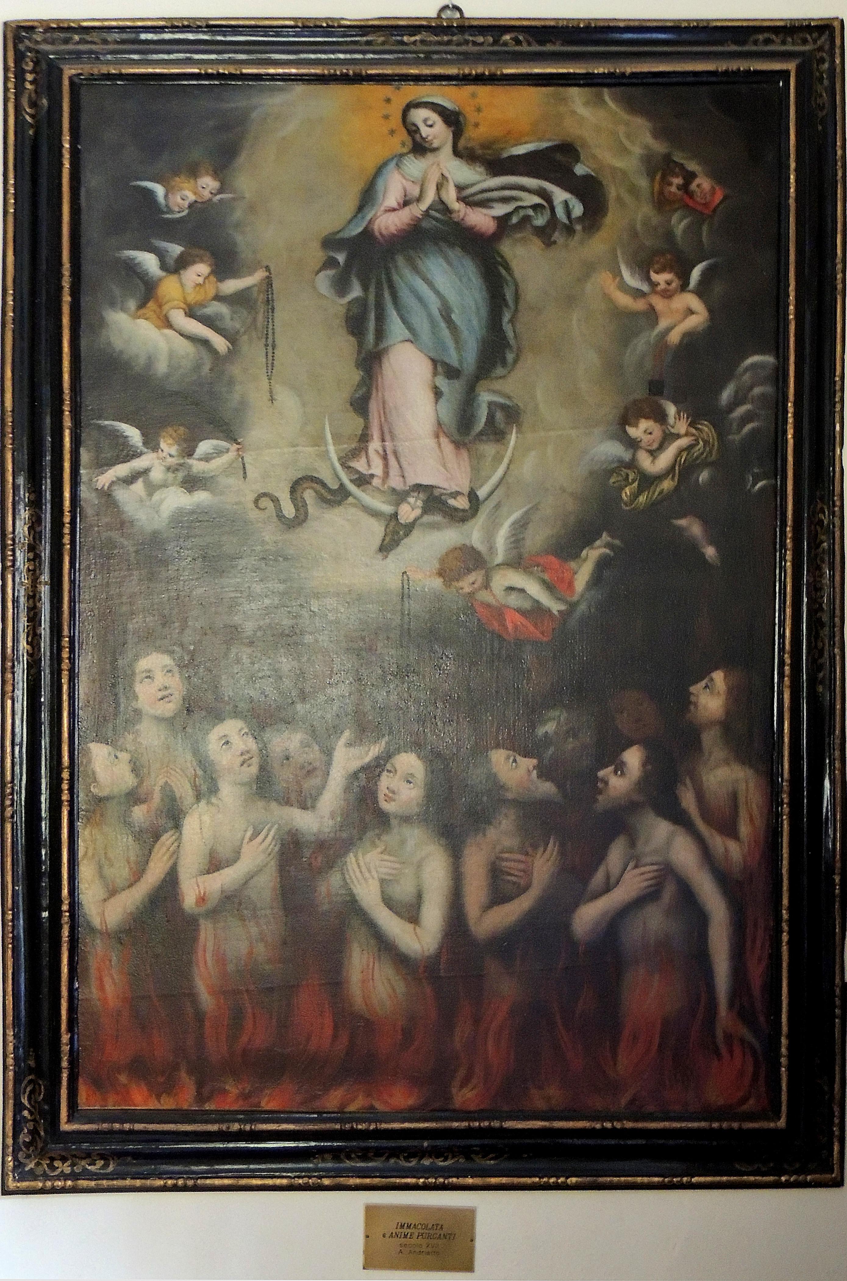 A. Andrietto. Madonna del Suffragio