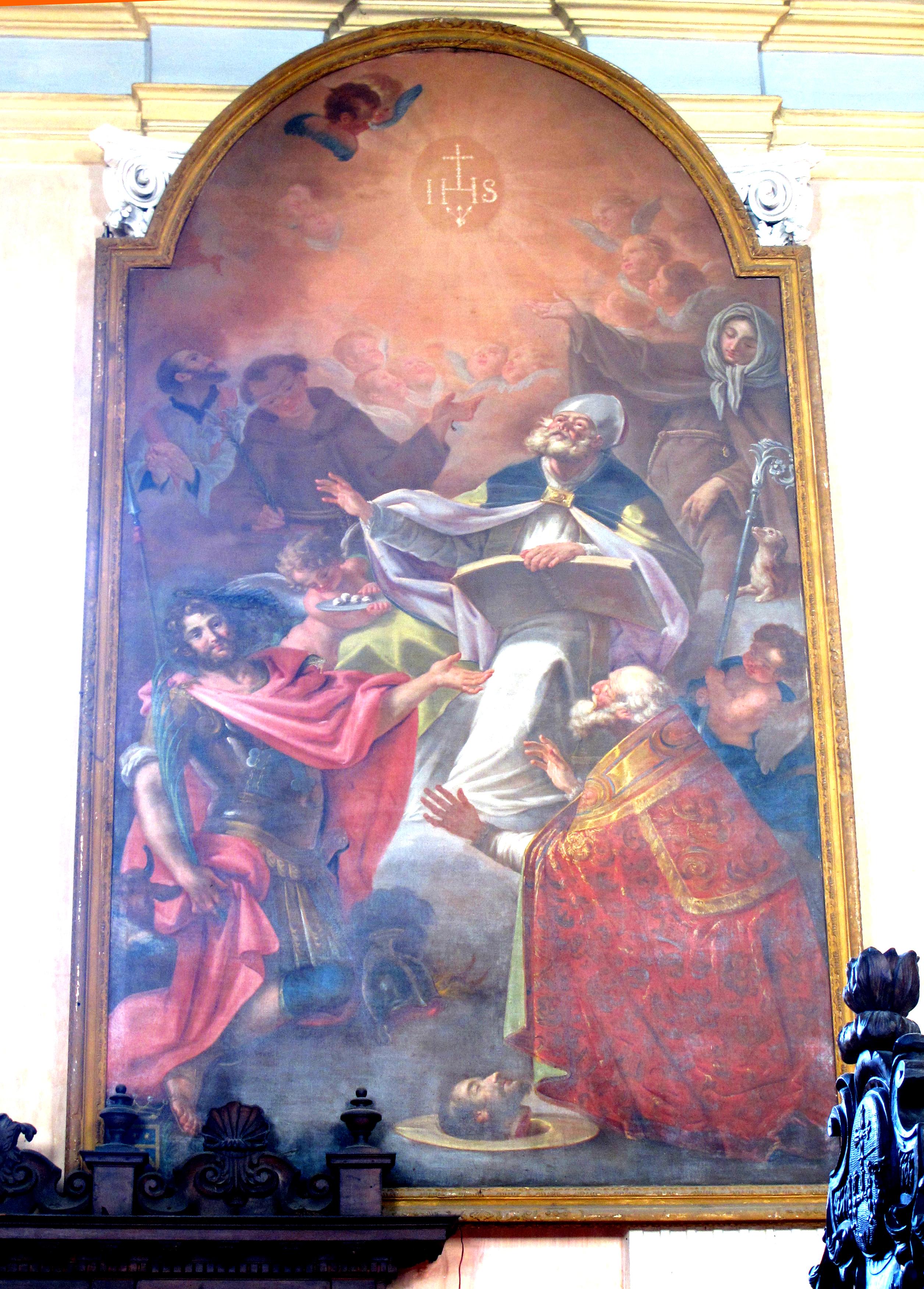 G. Sariga. San defendente ed altri Santi.