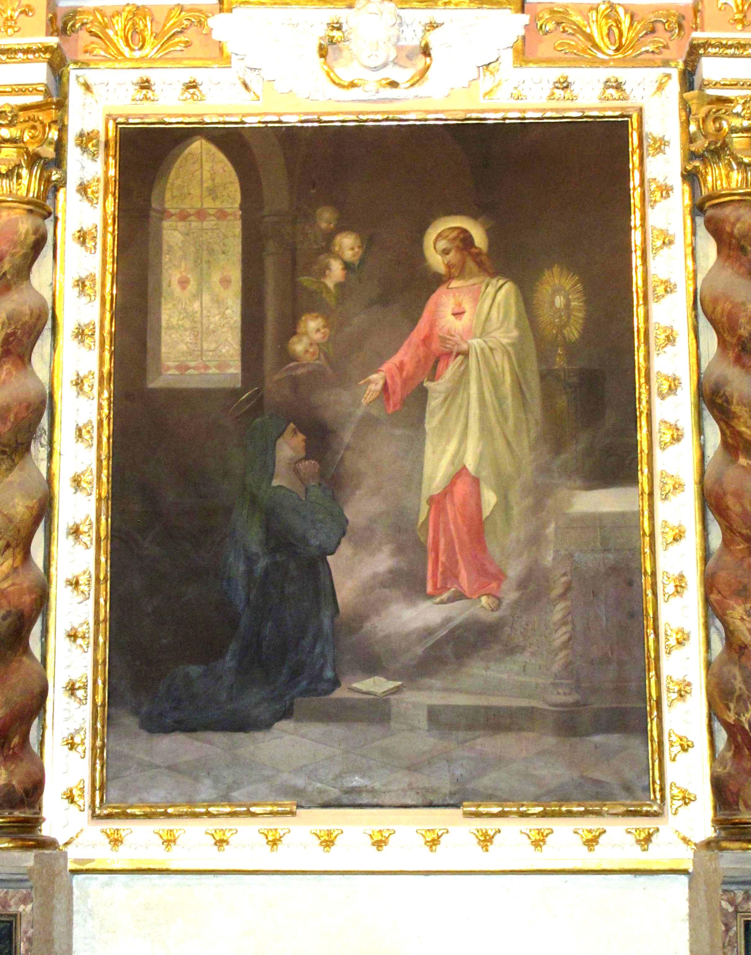 GILLI ALBERTO MASO, Il Sacro Cuore di Gesù (seconda metà del XIX sec).