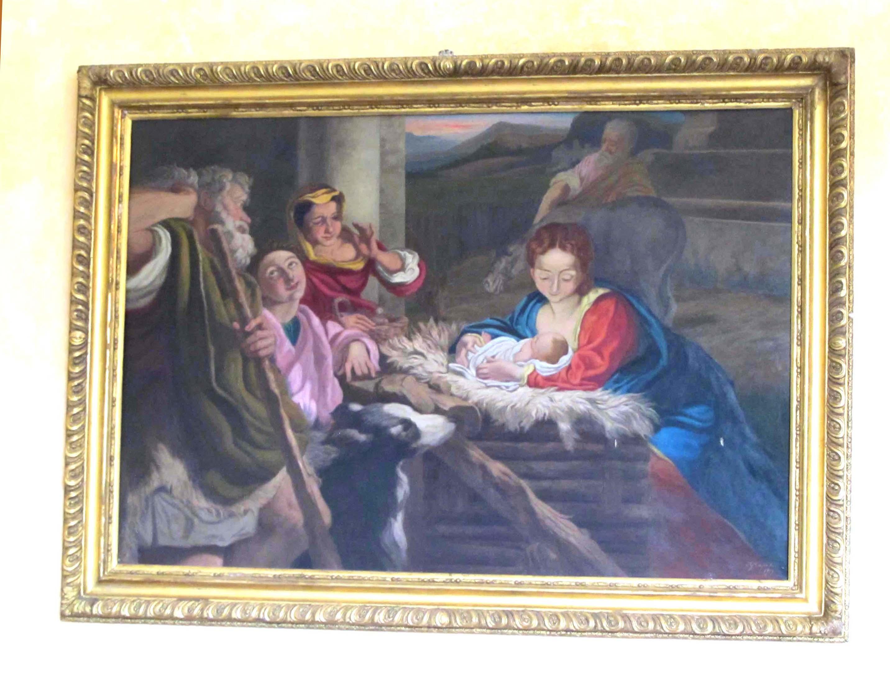 IGNOTO, Adorazione dei pastori (copia sec. XX)
